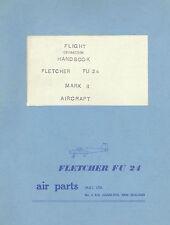 FLETCHER ( AIR PARTS NZ LTD ) FU-24 MARK II - AGRICULTURAL AIRCRAFT - 1966