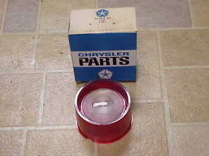 1958 Dodge Custom Royal Lancer Coronet NOS MoPar BACKUP LENS Sweptside Express