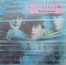 "7"" 1986! the subtones: Raining In Paradise/VG + \"