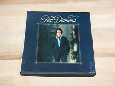 Neil Diamond I'm Glad You're Here With Me 4 Track 3.75 IPS Reel Tape TESTED GOOD