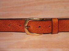 1 1/4 pulgadas 32mm Ancho Cinturón De Cuero Tamaño de la cintura en línea Negro Marrón Bronceado compra