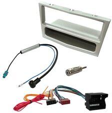 Kit Adaptateur Autoradio Cadre 1 DIN Câble Faisceaux compatible avec Opel Astra