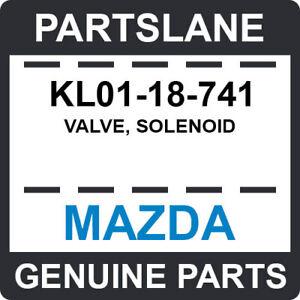 KL01-18-741 Mazda OEM Genuine VALVE, SOLENOID