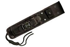 Buck Knife Sheath - 650 Nighthawk, Nylon, MOLLE, Black - 0650-15-BK1