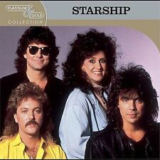 Platinum & Gold Collection - THE BEST OF STARSHIP - 12 TRACK MUSIC CD - E409