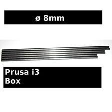 Steel Smooth Rods ø8mm 470mm 405mm 370mm - Prusa i3 BOX Reprap 3D printer iron