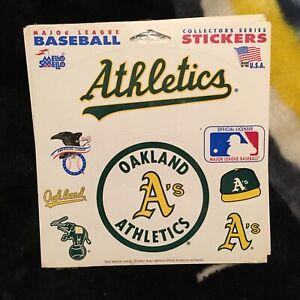 Oakland Athletics. Mello Smello Sticker set. New in shrink.