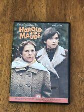 Harold And Maude DVD Region 1 Widescreen OOP Paramount Ruth Gordon Bud Cort