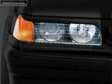 Headlight masks for BMW E36 - eyebrows trim spoiler