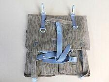 Vintage German Military Bag Backpack Splinter Camo Straps Rucksack Pack Nr-Mint