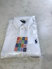 Ralph Lauren Ladies Harper LS White Shirt Size Small (S) BNWT's Never Worn