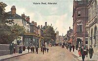 POSTCARD   HAMPSHIRE   ALDERSHOT    Victoria   Road