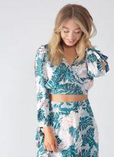 Ladies Split Skirt And Wrap Top Suit maxi dress size 10