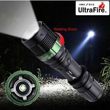 ULTRAFIRE 6000Lm con Zoom CREE XML T6 linterna LED 18650AAA batería Pies