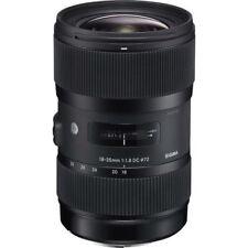 Sigma 18-35mm Zoom Camera Lenses