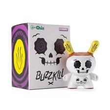 Kidrobot x Chia Kronk BUZZKILL White Dunny 4.5 inch Vinyl Figure NEW SEALED W@W!