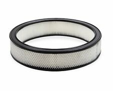 """Holley Edelbrock Chrome air cleaner 14""""x3"""" Muscle car air filter element"""