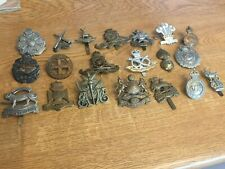 More details for nice mixed lot of military badges lot 2