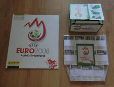 Panini UEFA Euro 2008 Austria/Swiss Complete Set of Stickers + Album + Box +Pack