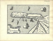 Antique map, Granville