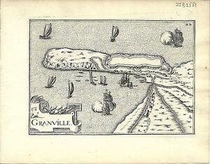 Antique map, Granville