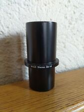 Wild Heerbrugg Microscope Camera Adapter 304490 Leica Photo Video Stereo 40/14