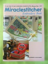 "Janome Memory Craft 8000 ""Miraclestitcher"" & Embroidery Book  Yarn Embroidery"
