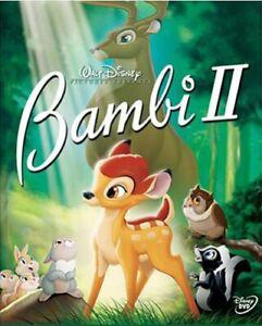 GOOD DVD Bambi II DISNEY CLASSIC 2006 Patrick Stewart Alexander Gould