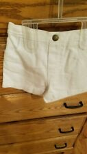 New Girls White Shorts by Fisher Price 12 months