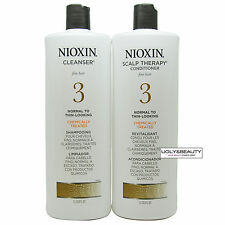 Nioxin System 3 Cleanser & Scalp Therapy Liter Duo 1 L / 33.8 FL. OZ.