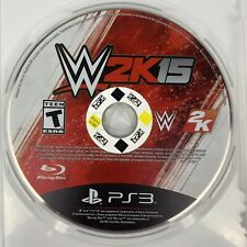 PS3  WWE 2K15 Playstation 3 Edition Sony Game Disc Only Tested