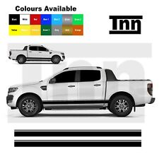 Side Stickers Stripes For Ford Ranger Raptor Sticker Decals 4x4 Off Road Vinyl