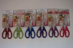 New KitchenAid Kitchen Shears Scissors Red * Green * Aqua * Purple * Pink