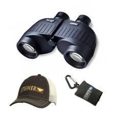 Steiner Marine 7x50 Binoculars with Cap and Microfiber Lens Cloth Pouch