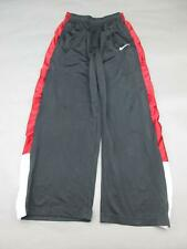 NIKE SIZE XL BOYS YOUTH BLACK/RED ATHLETIC SPORTSWEAR TRACK PANTS 491