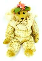 OOAK Plush RAG BAG BEAR Hand Crafted By TAMMIE LAWERENCE Tammies' Teddys' MOHAIR