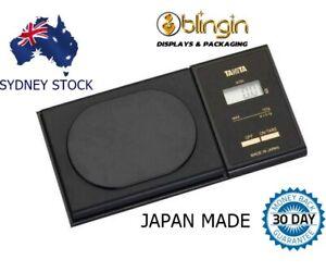 NEW TANITA 1479V Digital Mini Pocket Lab Jewellery Scale-120G X 0.1G- Jewelry AU