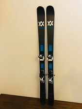 2019 Volkl Kendo Men's Freeride Downhill Skis 163 cm Marker Warden Demo Bindings