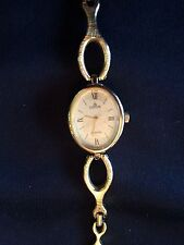 Lorus Gold Womens Watch with Chain Link Band and Gold Quartz Face