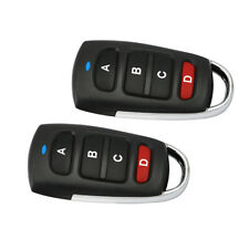 2Pcs Electronic Cloner Gate Garage Door Opener Key Remote Control 433mhz A