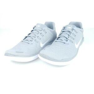 Nike Free RN 2018 Men's Running Shoes Wolf Grey White 942836 003 Sizes 7-15