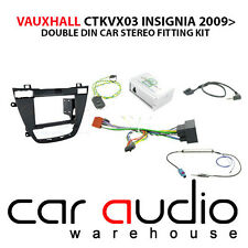 Vauxhall Insignia 2008 Car Stereo D/Din Fascia Steering Wheel Interface CTKVX03