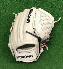 "Nokona American Kip 12.5"" Fastpitch Softball Glove A-V1250C - White"