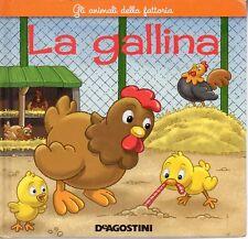 MU52 La gallina -Gli animali della fattoria De Agostini
