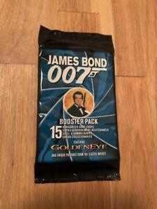 James Bond Trading Cards 007 Golden Eye Booster Pack New Sealed Target Games AB