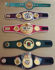 WBC WBA WBO IBF IBO Championships Boxing Belt Mini 5 Belts