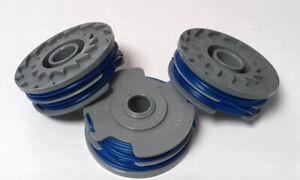 3 X Strimmer / Trimmer Line & Spool for QUALCAST GT2541 GTE550  *FAST POST