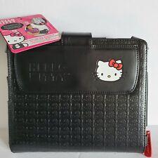 Hello Kitty Mini Messenger Bag ipad Carrying Case Organizer Black Monogram NWT