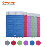 KingCamp 2-in-1 Double Camping Sleeping Bag Portable Compression Sleep Sack