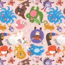 ABC Menagerie Abi Hall for MODA Quilt Fabric Fat Quarter  NEW